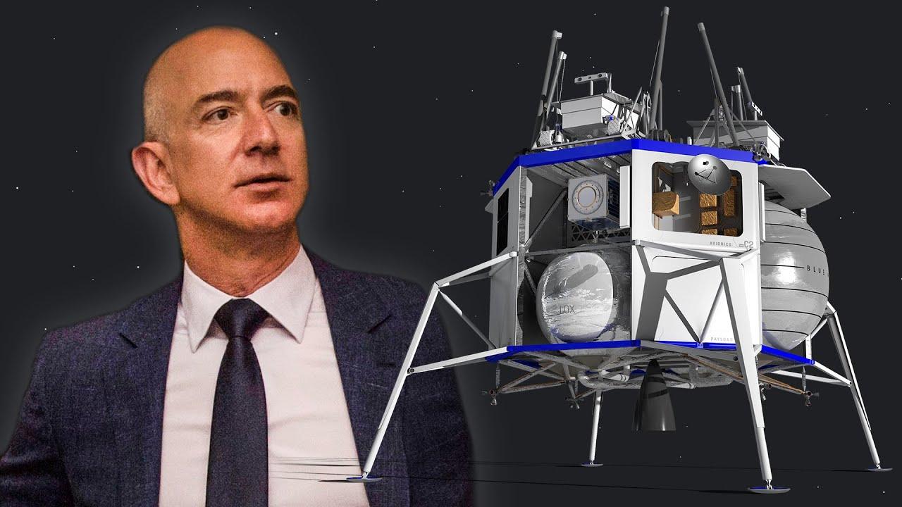 Memulai Bisnis dari Garasi, Jeff Bezos Kini Bersiap Kirim Pesawat ke Bulan