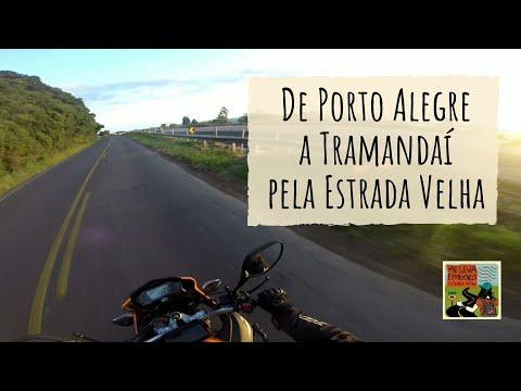 De Porto Alegre a Tramandaí pela Estrada Velha em XRE 190