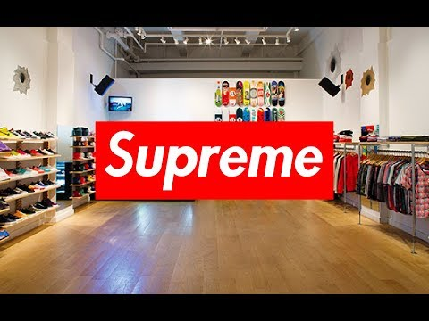 INSIDE THE SUPREME NYC STORE!