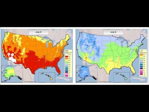 Annual Normal Temperatures