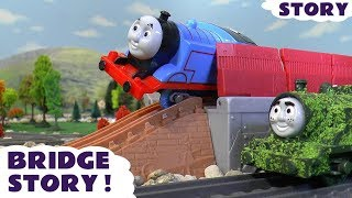 thomas and friends prank accident with play doh diggin rigs rescue toy trains story toytrains4u