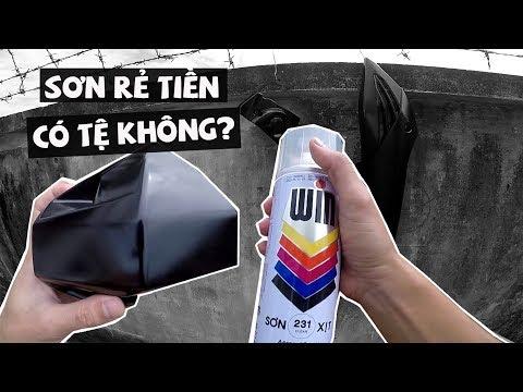 Thử Dùng Sơn WIN, ATM Xem Chất Lượng Thế Nào