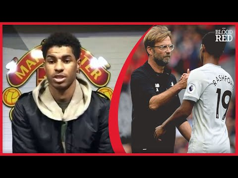 """NO BIGGER GAMES"" | Marcus Rashford Interview | Liverpool vs Man Utd Preview"