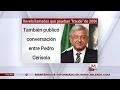 AMLO revela llamadas que prueban 'fraude' en elecciones de 2006