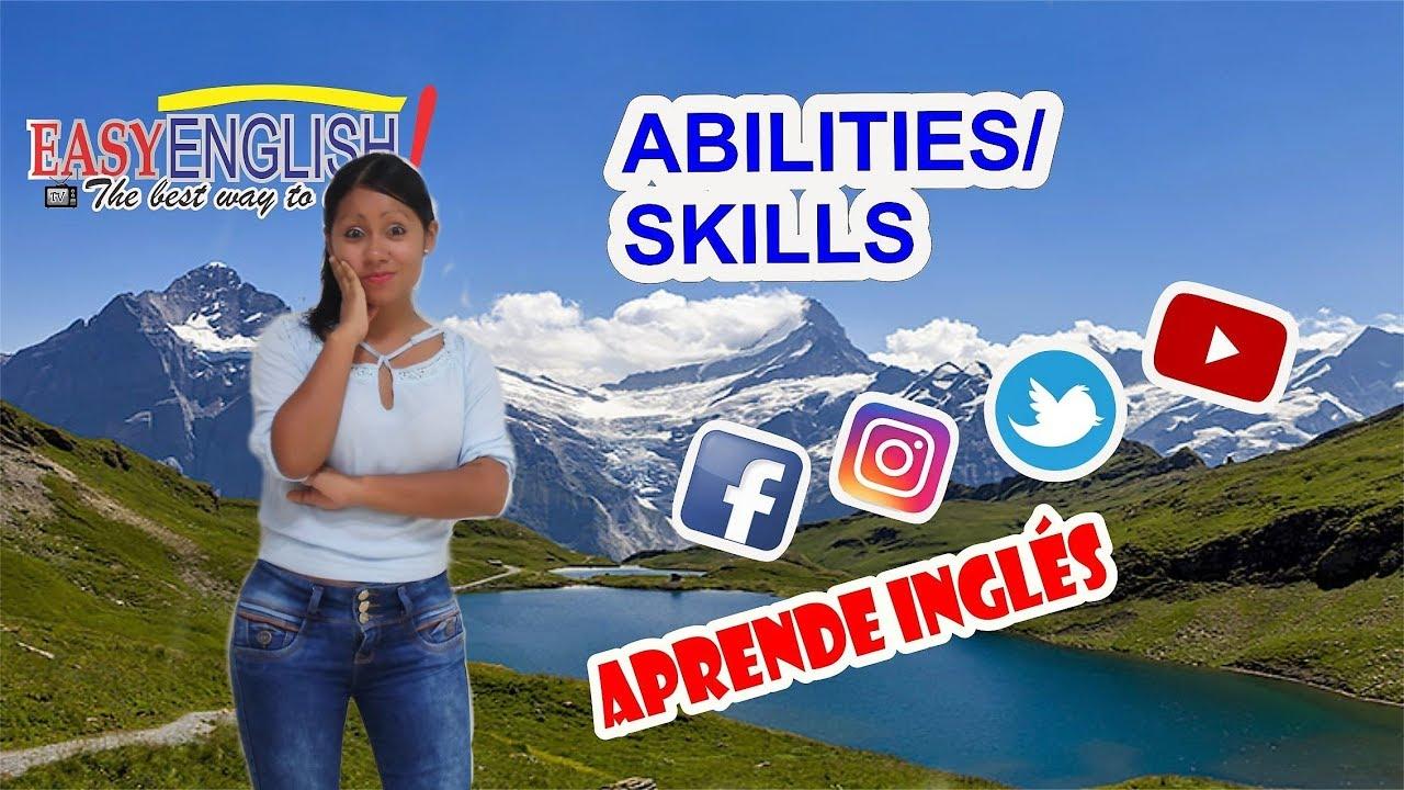 Download 🚀ABILITIES🚀(Las habilidades en Inglés)😎Cómo usar CAN y CAN'T en INGLÉS 🤗 #EasyEnglishTv