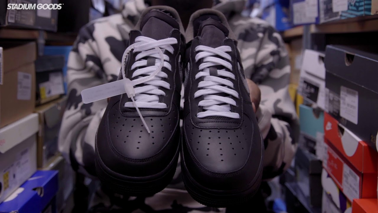 Unboxing: MoMA x Virgil x Nike Air Force 1 YouTube