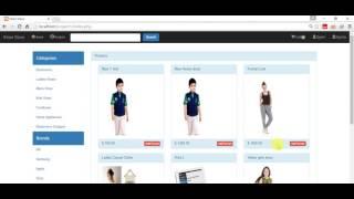 Shopping Cart Tutorial-Bootstrap Jquery-Ajax PHP MySqli Part-21