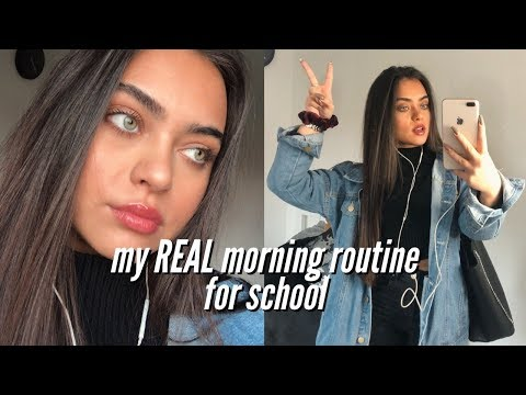 my school morning routine 2019