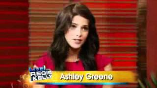 Ashley Greene on Regis and Kelly (November 2009)