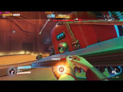 Overwatch D.Va Overtime competitive