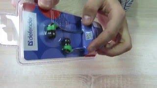 63434, Навушники з мікрофоном Defender Pulse 430 Black/Green