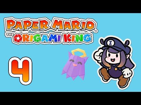 【Paper Mario: The Origami King】 You Can Also Call Me Papier 【#4】