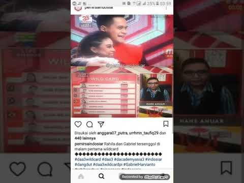 DAA 3 : Peserta yang tersenggol di babak wildcard malam pertama | Indosiar | 17 desember 2017
