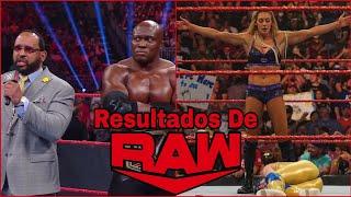 RESULTADOS De RAW 26 De Julio De 2021: Bobby Lashley NO QUIERE enfrentarse A Goldberg En SummerSlam