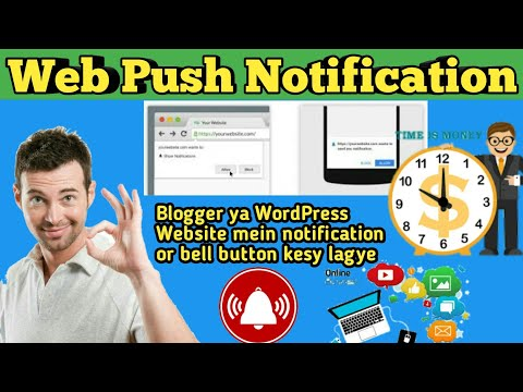 How to create a webPush Notification On Blogger or Wordpress