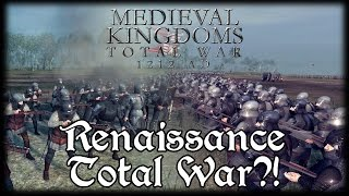 RENAISSANCE TOTAL WAR?! Total War Attila MEDIEVAL MOD Early Access Gameplay!