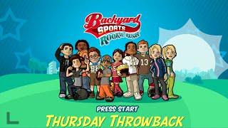 Thursday Throwback (Backyard Sports Rookie Rush)