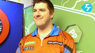 Daryl Gurney on raising £10,000 with Charity Head Shave | Champions League Preview