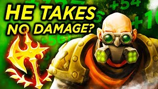 Season 10 Singed takes no damage in teamfights??