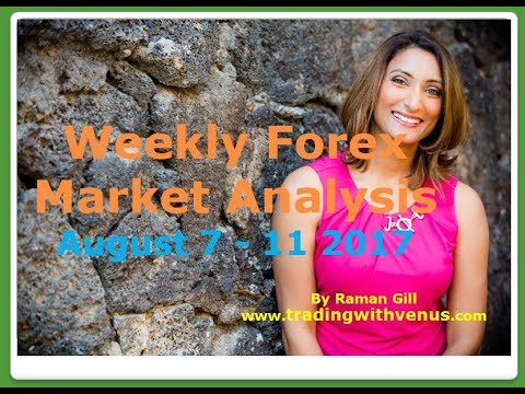 Weekly Forex Market Analysis August 7 - 11 2017