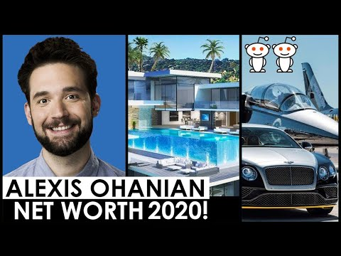 ALEXIS OHANIAN NET WORTH 2020 😍 SERENA WILLIAMS HUSBAND | REDDIT CO-FOUNDER