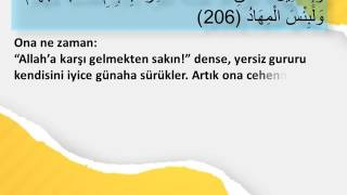 002 Bakara Suresi 206