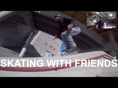 Skating is better with Friends