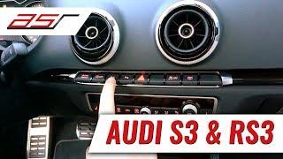 http://www.asr-component.de Klappensteuerung für Audi S3 RS3 8V übe...