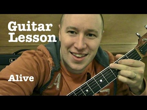 Alive- Guitar Lesson (TABS)- Krewella (Todd Downing)
