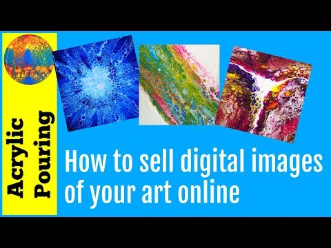 How to Sell Digital Images of Your Paintings Online