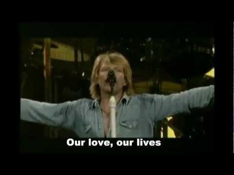 Bon Jovi - Born To Be My Baby Lyrics