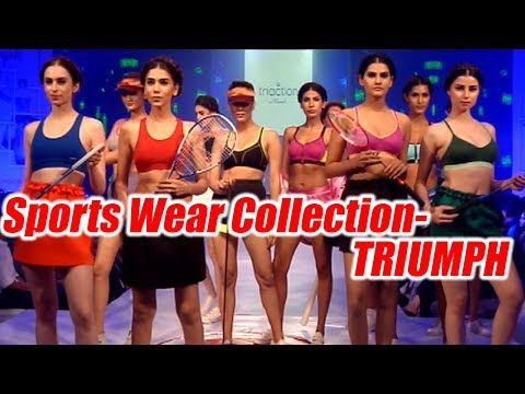 Sports Wear Fashion Show of Triumph; Watch the collection   Boldsky