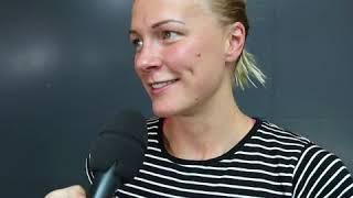 Sarah Sjöström landar på Arlanda med fyra individuella EM-guld i bagaget