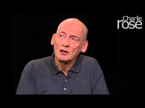 Rem Koolhaas: The reason I became an architect (Jan. 14, 2016) | Charlie Rose
