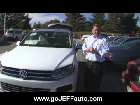 2011 VW Touareg Jeff D'Ambrosio Auto Group Downingtown West Chester County.wmv