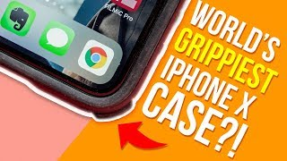 The GRIPPIEST Case EVER! - Dbrand Grip Bumper Case for iPhone X - Review