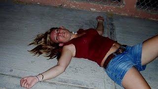 Пьяные европейские девушки