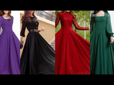 Long Umbrella Frock Designs For Girls 2018/2019
