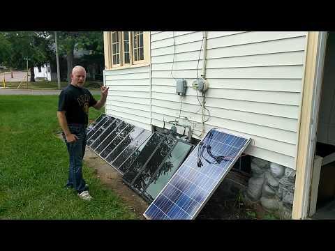 5 solar panels off grid, diy solar projects