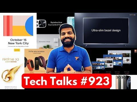 Tech Talks #923 - Realme X2, OnePlus TV, Mi Band 4, Mi TV 4X, ROG Phone 2, IPhone 11 Pro Unboxing