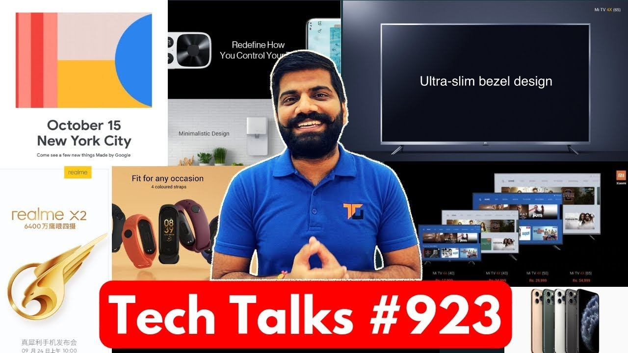 Download Tech Talks #923 - Realme X2, OnePlus TV, Mi Band 4, Mi TV 4X, ROG Phone 2, iPhone 11 Pro Unboxing