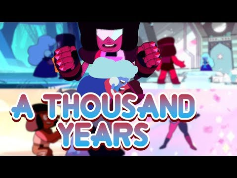 AMV - A Thousand Years - Tributo A Garnet (Ruby & Zafiro) *contiene Escena De Beso*
