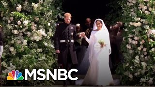 Royal Wedding Rewind: Meghan Markle And Prince Harry's Big Day In 2 Minutes | MSNBC