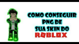 Cómo obtener PNG de tu Piel Roblox.