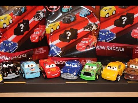Mattel Disney Cars 3 Mini Racers Blind Bags Mcqueen Chick
