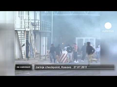 Kosovo border post torched - no comment
