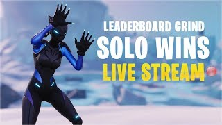 Solo Wins Leaderboard Grind | PS4 Fortnite