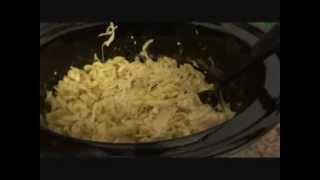 Crockpot Chicken-n-Noodles.