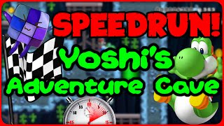 SPEEDRUN: Yoshi's Adventure Cave - Super Mario Maker Online