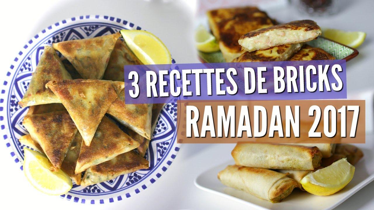 RAMADAN , 3 RECETTES DE BRICKS FACILES ET RAPIDES !